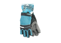 Перчатки комбинированные облегченные, открытые пальцы AKTIV GROSS