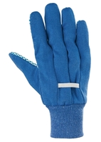 Перчатки рабочие х/б ткань с ПВХ точкой, манжет СИБРТЕХ