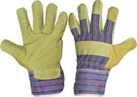 Перчатки спилковые комбинированные Р