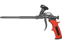 Пистолет для монтажной пены, тефлоновое покрытие, двухкомпонентная ручка MATRIX