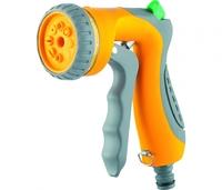 Пистолет-распылитель, 8-режимный, курок спереди, эргономичная рукоятка PALISAD LUXE