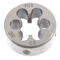 Плашки круглые метрические, инструментальная сталь 9ХС, СИБРТЕХ