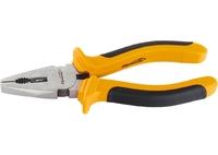 Плоскогубцы SPARTA Comfort, комбинированные шлифованные, двухкомпонентные рукоятки