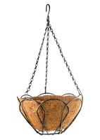 Подвесное кашпо с орнаментом, с кокосовой корзиной PALISAD