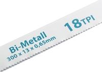 Полотна для ножовки по металлу, биметаллическое, 300 мм, GROSS