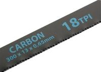 Полотна для ножовки по металлу, высокоуглеродистая сталь,300 мм, Carbon, GROSS