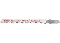 Полотна для электролобзика по дереву, 3 шт. T101DF, 75 x 4мм, Bimetal MATRIX Professional