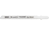 Полотна для электролобзика по металлу, 3 шт. T127D, 75 х 3мм, HSS MATRIX Professional