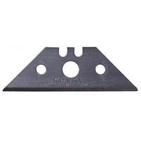 Лезвия KRAFTOOL SOLINGEN сменные трапец, для универс ножей, легиров сталь, многоур закалка, ТипB23,