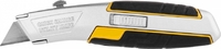 """Нож JCB металлический, с выдвижным трапециевидным лезвием, тип """"А24"""", автозамена лезвий"""