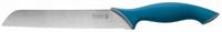"""Нож LEGIONER """"ITALICA"""" хлебный, эргономичная рукоятка, лезвие из нержавеющей стали, 200мм"""