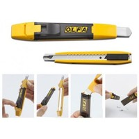"Нож OLFA""STANDARD MODELS""AUTO LOCK для резки бумаги,картона,обоев,со встроен съемным контейнером для"