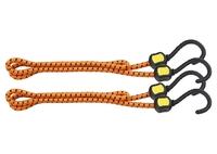 Резинки багажные, обрезиненные крюки, 2 шт, STELS