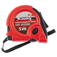 Рулетка MATRIX Rubber, обрезиненный корпус