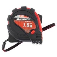 Рулетка MATRIX Status magnet 3 fixations, обрезиненный корпус, зацеп с магнитом