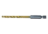Сверло по металлу, HSS, нитридтитановое покрытие, 6-гранный хвостовик MATRIX