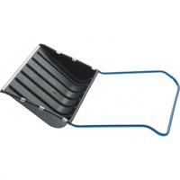 Скрепер для снега 750 х 550 х 1,3 мм, пластиковый, П-образная ручка, метал. окант. СИБРТЕХ Россия