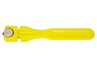 Стеклорез 2-роликовый с пластмассовой ручкой Россия