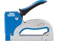 Степлер металлический БАРС, регулировка удара, двухкомпонентная рукоятка, тип скобы 53, 4-14мм.