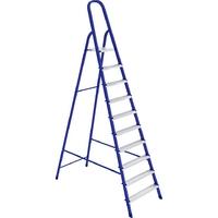 Стремянка стальная, алюминиевые ступени (Алюмет)