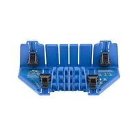 Стусло пластиковое БАРC 350*100*80мм, 5 углов для запила, приж.фиксаторы с угл.накл-ми