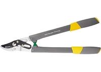 Сучкорез с прямым резом, 550 мм, 2-рычажный мех., SK-5 лезвие, нейлоновые рукоятки PALISAD LUXE