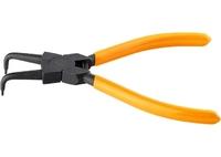 Съемник SPARTA для внутренних стопорных колец, 150 мм., изогнутые губки (сжим)