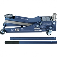 Домкрат гидравлический подкатной, быстр.подъем, 3т LOW PROFILE QUICK LIFT, 75-515 мм, проф STELS