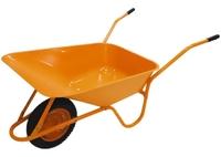 Тачка садово-строительная ТСО-02, крашенная, пневмоколесо, грузоподъемность 120кг, объем 90л