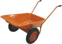 Тачка садово-строительная ТСО-2-02, двухколесная, пневмоколесо, грузоподъемность 120 кг, объем 90л