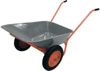 Тачка садово-строительная ТСО-2-02.ОЦ, двухколесн., пневмоколесо, грузоподъемность 120 кг, объем 90