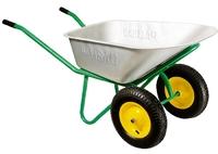 Тачка садово-строительная, 2-х колесная, усиленная, грузоподъемность 320 кг, объем 100 л PALISAD