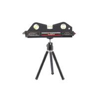 Уровень лазерный MATRIX, 170 мм, 150 мм штатив, 3 глазка