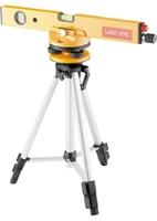 Уровень лазерный MATRIX, 400 мм, 1050 мм штатив 3 глазка, набор (база, 2.линзы) в пласт.боксе