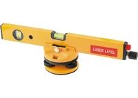 Уровень лазерный MATRIX, 400 мм, 850 мм штатив, 3 глазка, (база, 2 линзы, очки) в пласт.боксе