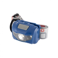 Фонарь налобный Space, ABS пластик, 4 режима, 1 Вт LEDх120 лм, 2 red LED, 8 часов, 3хААА Stern
