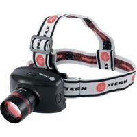 Фонарь налобный Zoom, CRE Q5 LED, 3 Вт, 160 лм, 100 м,3 режима: 100%-50%-строб, 3хААА Stern