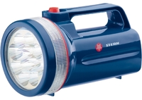 Фонарь поисковый светодиодный, пластиковый корпус,30 часов непрерывной работы, 12 LED,4хLR20 Ster