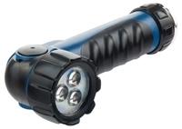 Фонарь светодиодный, противоударный, влагозащищённый, 3 LED, 2хLR20 Stern