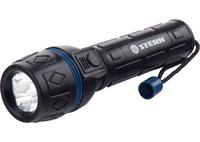 Фонарь светодиодный, ударопрочный корпус, влагозащищённый, 3 LED, 2хАА Stern