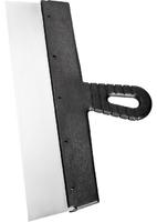 Шпательная лопатка из нержавеющей стали, пластмассовая ручка СИБРТЕХ