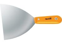Шпательная лопатка стальная, полированная, пластмассовая ручка SPARTA