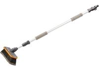 Щетка с подачей воды, телескоп. 2 части (щетка, ручка телескопическая) STELS