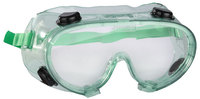 Очки STAYER защитные самосборные закрытого типа с непрямой вентиляцией, поликарб прозрачные линзы