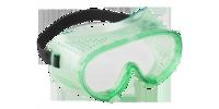 """Очки ЗУБР """"МАСТЕР"""" защитные закрытого типа, с прямой вентиляцией, линза поликарбонатная"""