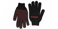 """Перчатки ЗУБР """"МAСTEP"""" трикотажные, 7 класс, с защитой от скольжения, утепленные, L-XL"""