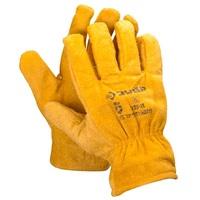 """Перчатки ЗУБР """"МАСТЕР"""" кожаные рабочие, с подкладкой, XL"""