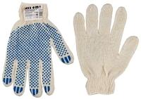 Перчатки трикотажные DEXX, 7 класс, х/б, с защитой от скольжения