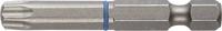 """Биты ЗУБР """"ПРОФЕССИОНАЛ"""" торсионные кованые, обточенные, хромомолибденовая сталь, HEX3, 2шт"""