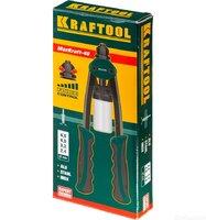 """Заклепочник двуручный компактный KRAFTOOL """"MaxKraft-48"""" для заклёпок из Al, стали, нерж стали d=2,4"""